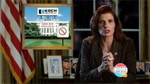 President Bachmann Halloween Warning