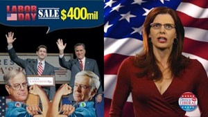USA for Sale! Koch Bros. Labor Day Specials