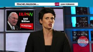 Rachel Maddow Secret Tea-Party Neo-Conservative?