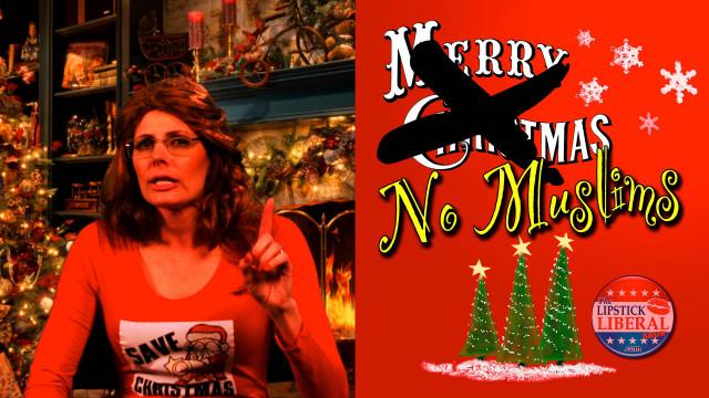 """Sarah Palin's """"Save Christmas Eve"""" Message (Parody)"""